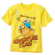 Adventure Time What Time Is It? Tee - Boys 8-20