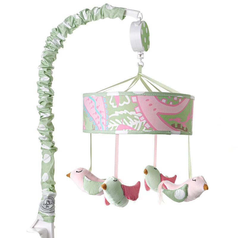 My Baby Sam Pixie Baby Musical Mobile, Pink