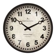 FirsTime Classic Station Wall Clock