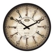 FirsTime Antique Keys Wall Clock