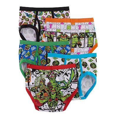 Teenage Mutant Ninja Turtles 5-pk. Briefs - Boys 4-8