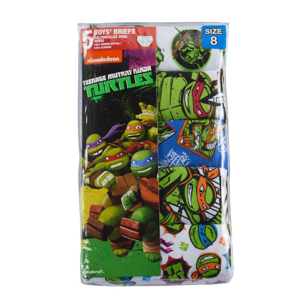Boys 4-8 Teenage Mutant Ninja Turtles 5-pk. Briefs