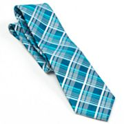 Arrow Shiny Plaid Tie