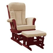 Dream On Me Mission Glider and Ottoman Set