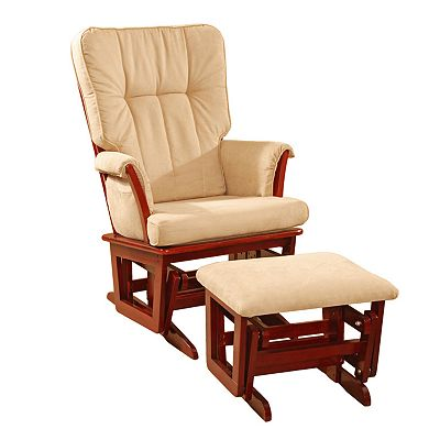 Dream On Me Windsor Glider and Ottoman Set