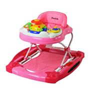 Dream On Me Evolution Entertainment Hub 2-in-1 Walker and Rocker - Pink