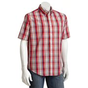 Croft and Barrow Plaid Easy-Care Casual Button-Down Shirt