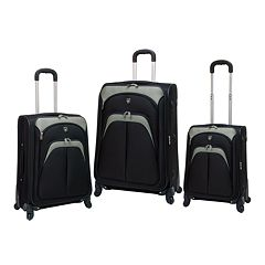 Travelers Club 3-Piece Spinner Luggage Set