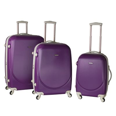 Travelers Club Barnet 3-piece Expandable Spinner Luggage Set