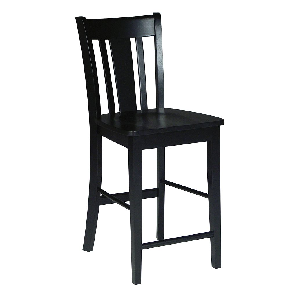 San Remo Black Counter Stool