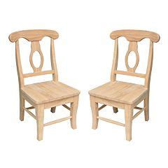 2 pc Empire Juvenile Chair Set