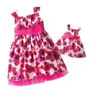 Dollie and Me Floral Dress - Toddler