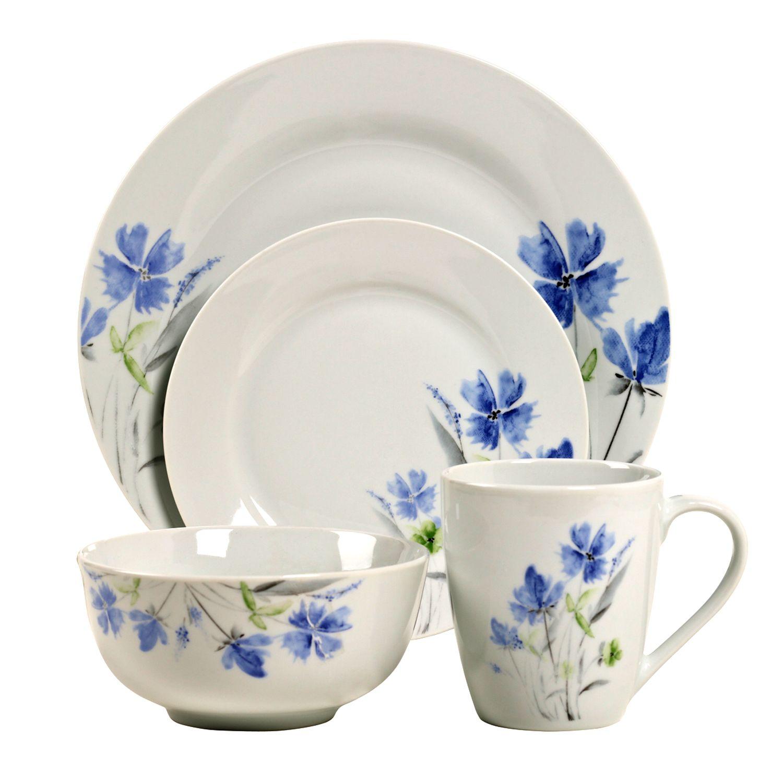 Tabletops Gallery Wildflower 16-pc. Dinnerware Set  sc 1 st  Kohl\u0027s & Tabletops Gallery Dinnerware \u0026 Serveware Kitchen \u0026 Dining | Kohl\u0027s