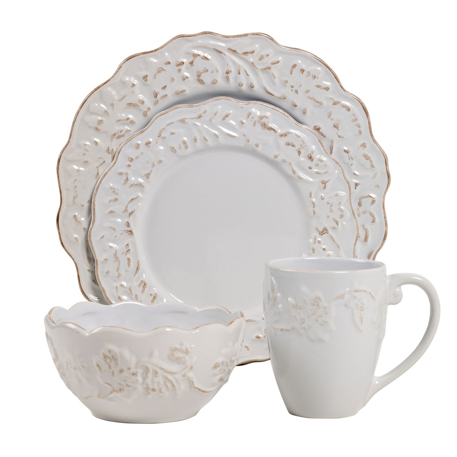 High Quality Product Name Tabletops Gallery Charlotte 16 Pc. Dinnerware Set