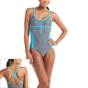 adidas Colorblock One-Piece Swimsuit