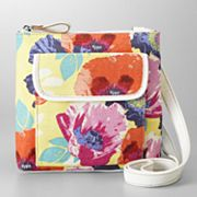 Relic Urban Floral Canvas Mini Crossbody Bag