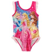 Disney Princess One-Piece Swimsuit - Toddler