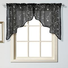 United Curtain Co. Savannah Swag Curtain Pair - 51'' x 38''