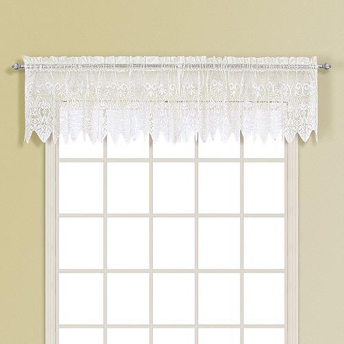 United Curtain Co. Valerie Window Valance - 52