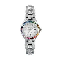 Armitron NOW Women's Crystal Stainless Steel Watch - 75/3689MPSVRB