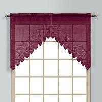 United Curtain Co. Valerie Swag Curtain Pair - 52