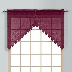 United Curtain Co. Valerie Swag Curtain Pair - 52' x 38'