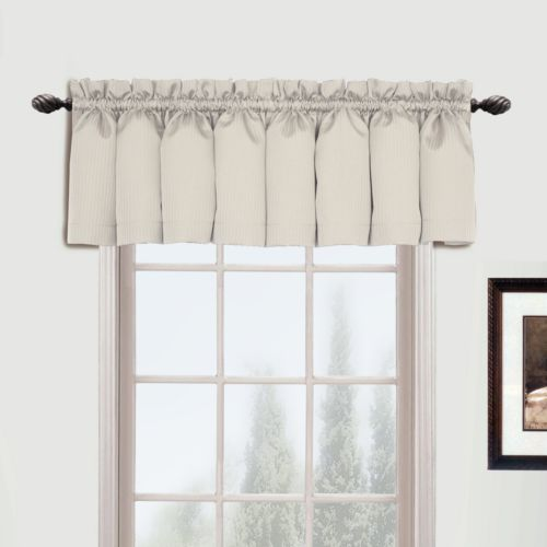 United Curtain Co. Metro Valance - 54'' x 16''