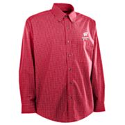 Wisconsin Badgers 2013 Rose Bowl Esteem Plaid Shirt -  Men