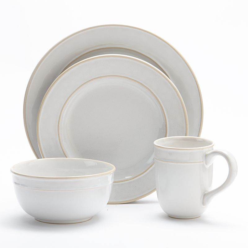 Food Network Fontina  Piece Place Setting