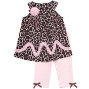 Rare Editions Animal Top and Leggings Set - Toddler