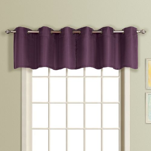 United Curtain Co. Mansfield Valance - 54'' x 18''