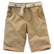 Urban Pipeline Flat-Front Printed Shorts - Boys 8-18