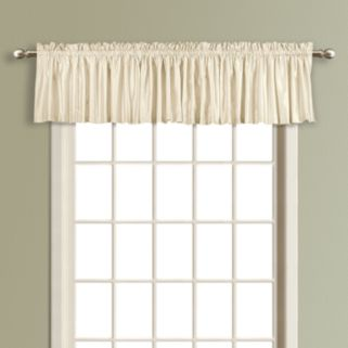 United Curtain Co. Lincoln Lined Valance - 54'' x 16''