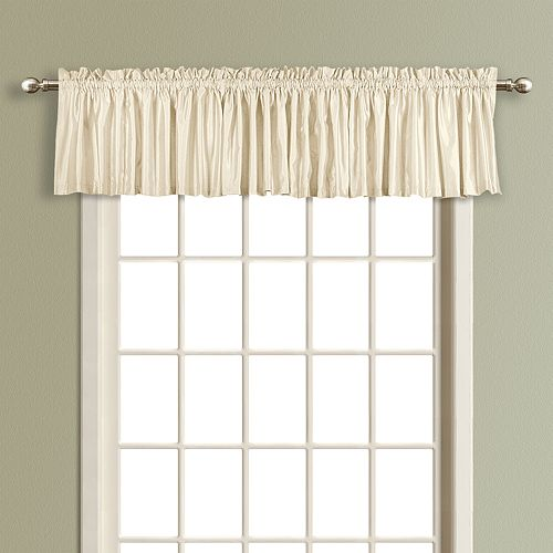 United Curtain Co. Lincoln Lined Window Valance - 54