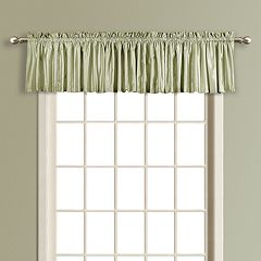 United Curtain Co. Lincoln Lined Window Valance - 54' x 16'