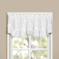 United Curtain Co. Vienna Eyelet Window Valance - 60