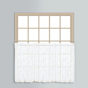 United Curtain Co. Windsor Tier Curtain Pair - 56'' x 24''