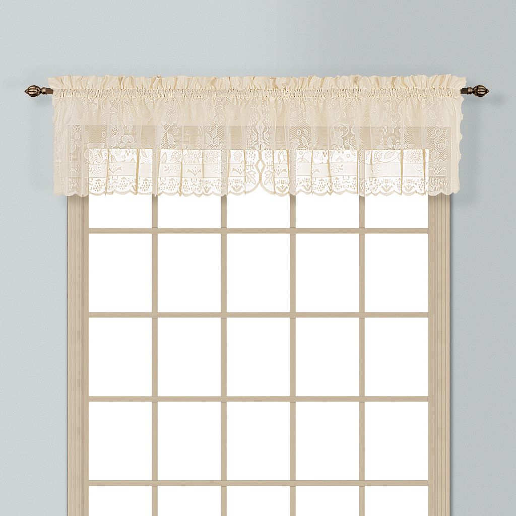 United Curtain Co. Windsor Window Valance - 56'' x 16''