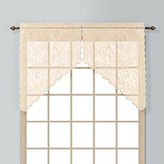 United Curtain Co. Windsor Swag Curtain Pair - 56'' x 38''
