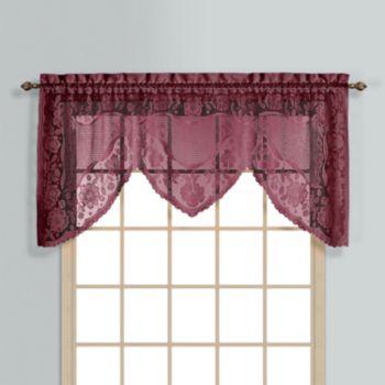 Curtain Co Windsor Swag Window Valance 72 X 36
