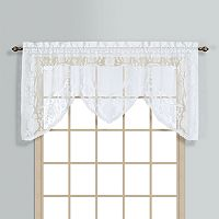 United Curtain Co. Windsor Swag Window Valance - 72'' x 36''