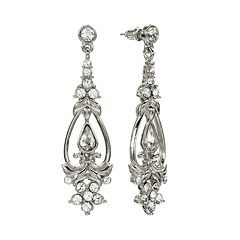 1928 Crystal Drop Earrings