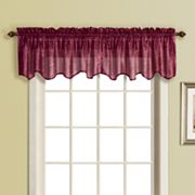 United Curtain Co. Sanibel Voile Valance - 50'' x 16''