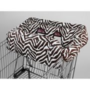 Pam Grace Creations Zebra Shopping Cart Cover