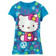 Hello Kitty Peace Sign Tee - Girls 7-16