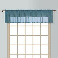 United Curtain Co. Batiste Window Valance - 54'' x 16''
