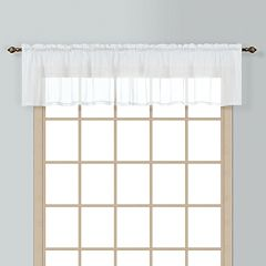 United Curtain Co. Batiste Window Valance - 54'' x 18''