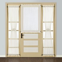 United Curtain Co. 1-Panel  Batiste Door Window Panel - 54'' x 45''