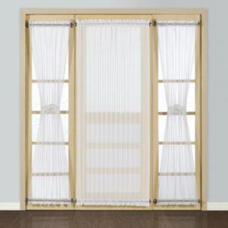 United Curtain Co. Batiste Door Window Panel - 54'' x 72''
