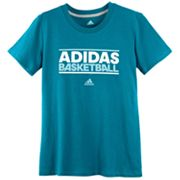 adidas Basketball Tee - Girls 7-16